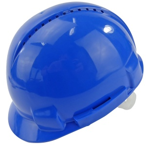 Vented Safety Helmet Blue